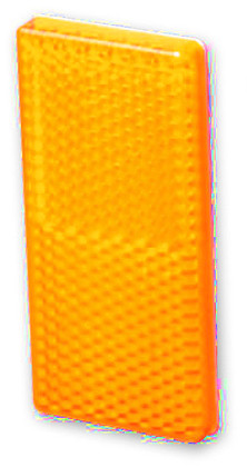 SIDE REFLECTOR AMBER  Twin Pack