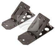 HU0133 - Steel Folding Wheel Chocks Twin Pack. HULK. CD. Ultimate LED.