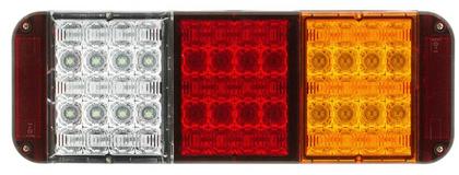 LS9081 - Modular Jumbo Combination Stop Tail Indicator Reverse. Multi-volt. Single Pack. Jaylec. CD. Ultimate LED.
