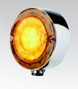 BR170FM Front Guard - Fender Indicator and Marker Light in LED. Multi-Volt 10-30v DC