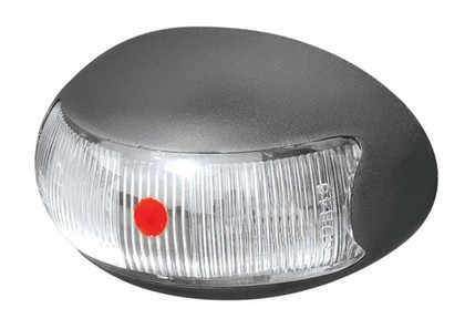 BR3R. Roadvision Rear Marker - Red Marker LED Light. 0.5m Wiring Harness. Chrome and White Base Available
