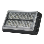LED Strobe Module. Amber, Amber. LE8AA. Rectangle. Super Bright and Tough.