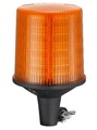 Amazingly Bright. Pole Mount. Amber LED Simulated Rotation Safety Beacon. Amber.