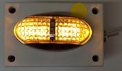 Battery Operated Amber Marker Light. Oversize, Over Dimension, Magnetic Mount Clearance Lights are hand made by Ultimate LED. Made in Australia.