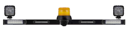 Light Functions - Stop, Park, Indicator, Reverse and low profile Safety Amber Beacon fitted with the reverse buzzer and LED Work Lights.