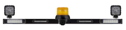 This Mine Light Safety Bar is fitted with the following -Stop, Tail, Indicator, Reverse Light, (LED) Safety Amber Beacon (Class 1 - LED) with a Back Up Alarm System. ADR Approvals with 5 year warranty. LED Work Lights x 2 also included 27 watt each