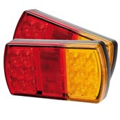 Twin Pack, LED Tail Lights - 12 Volt