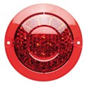 Stop, Tail LED Light with Reflector. Red Lens. BR170RR. ADR Approved. 5 year warranty. Ultimate LED