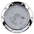 IL70C - Interior & Exterior LED Light. Round. 12V. Chrome Bezel. Single Pack. RV. Ultimate LED