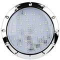 IL100C - LED Interior & Exterior Light. 150 Lm. Chrome Bezel. Round. 12V. Single Pack. RV. Ultimate LED.