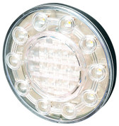 100mm Round Reverse LED Light 5 year Warranty