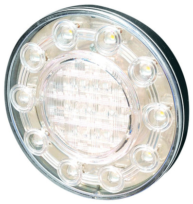 100mm Round Reverse LED Light 5 year Warranty