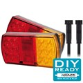 LED Box Trailer Tail Light DIY Kit. 12 Volt Suit Box Trailer 8 x 5. This is a complete Plug and Play System.