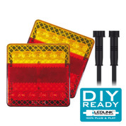 Tail Light DIY Kit. 12 Volt Suit Box Trailer 6 x 4