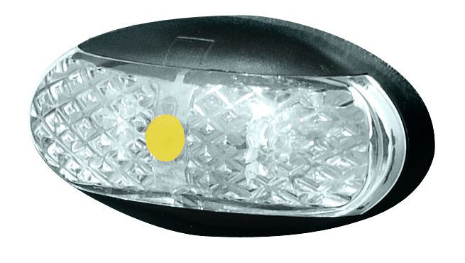 240rv18  br1ab10  roadvision amber marker  clearance led light  multi
