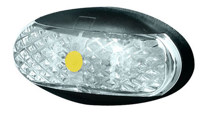 Roadvision Side Marker Amber Marker LED Light. 2.5m Wiring Harness. Box of 10