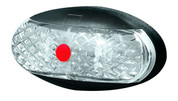 Slim Rear Marker, Clearance Light BR1 Series Red with 2.5m Cable