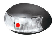 Brytec Rear Marker, Clearance Light. BR3 Series Red - Box of 10. 2.5m Cable Chrome and White Base Available