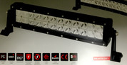 Baxter 12 inch LED 72 watt Driving LED Light Bar, Spread Beam. Supplied by Ultimate LED. 5 year warranty