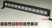 Baxter 10 inch LED 60 watt Driving LED Light Bar, Spread Beam. Single Row. Supplied by Ultimate LED. 5 year warranty
