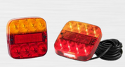 99ARL2 Stop, Tail, Indicator, Reflector with inbuilt Licence Lamp. Twin Pack
