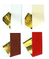 Craft Velvet Ribbon with Poly Gold Backing