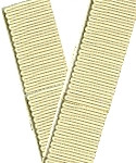 Petersham Grosgrain Ribbon with Scalloped Edge
