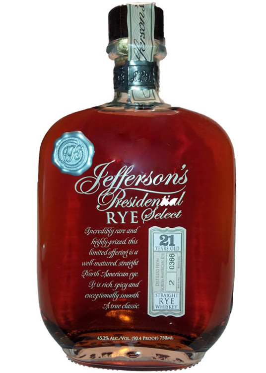Jefferson S Presidential Select 25 Year Old
