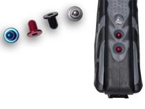 New Designz - Proto Rail - Buttons - Silver.