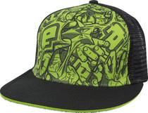 Eclipse - Cap - Stretch Cap - Black/Green