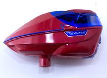 Virtue - Spire 200 - SE Gloss Red/Blue + Custom Crown 2.5