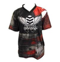 Paintball Assassin DryFit Jersey - Crimson