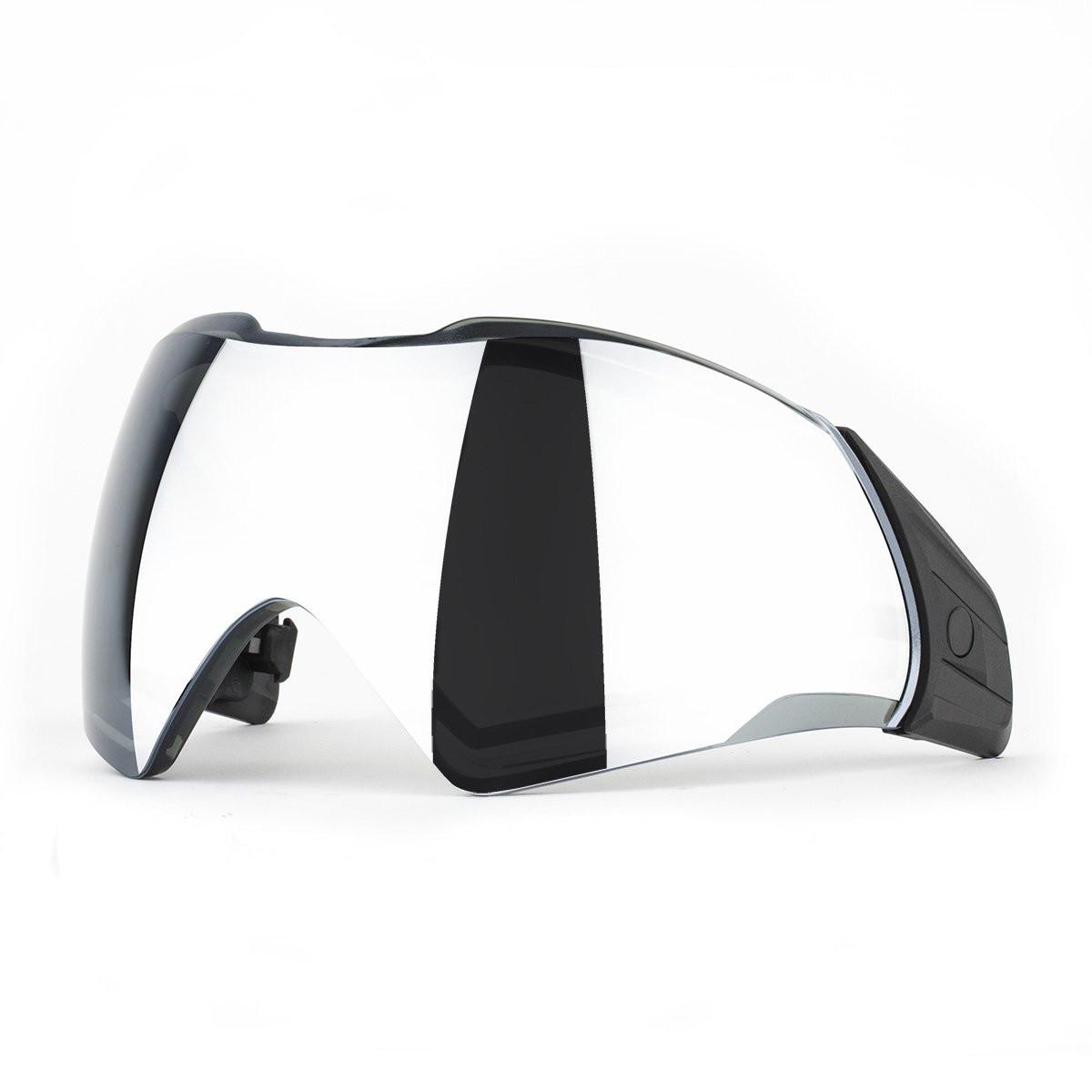 Chrome Green Push Unite Thermal Paintball Goggle Lens