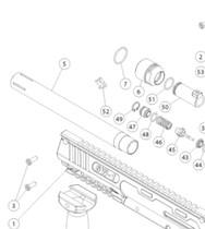 "Valken - SW1 - Factory 10"" Barrel"