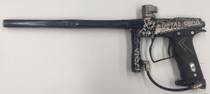 "Eclipse - Geo - Black ""METAL GEAR SOLID"" custom laser engraved 14 inch Shaft barrel - Used"