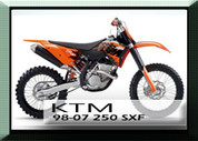 KTM 07 250SXF Rad Guards