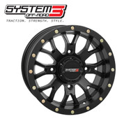 ST-3 UTV Wheel Matte Black