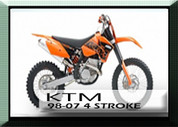 98-07 KTM 4 Stroke Rad Guards