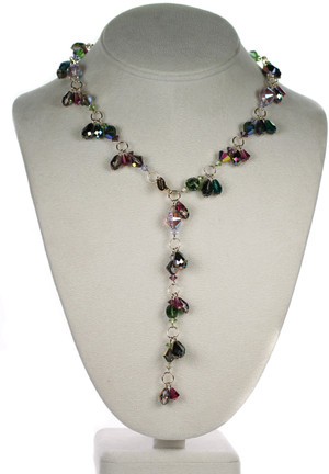 Karen Curtis NYC Y necklace from mystical jewelry collection