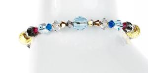 Colorful Crystal Bangle Bracelet - Tiffany