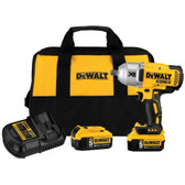 "DeWalt DCF899P2  20V MAX Cordless Li-Ion 1/2"" Impact Wrench 5.0 Battery Kit NEW"