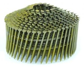 "(11,200 Count) SpotNails CWC6D083R 2""x.083 Ring Bright Cone .083 Cone Coil Nails"