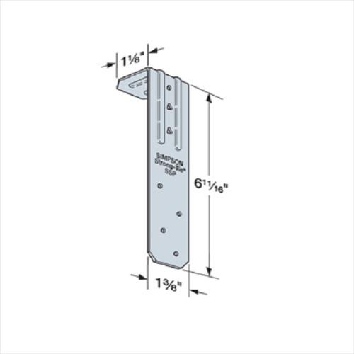 200 Count) Simpson Strong-Tie SSP Single Stud Plate