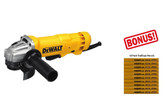 "DeWalt DWE402N 4-1/2"" Small Angle Grinder W/ No Lock-on + FREE 10 Pack Pencils"