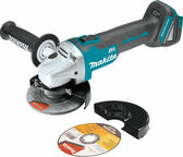 "Makita XAG04Z 18V LXT Li-Ion Cordless 4‑1/2"" Cut‑Off/Angle Grinder Tool Only"