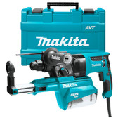 "Makita HR2651 1"" AVT Rotary Hammer accepts SDS-PLUS bits w/ HEPA Dust Extractor"