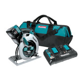 "Makita XSH01PT 18V X2 LXT Li-Ion (36V) Cordless 7-1/4"" Circular Saw Kit 5.0Ah"