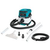 Makita XCV04Z 18V X2 LXT Li-Ion Crdlss/Crded 2.1Gal HEPA Filter DryDust Extractor/Vacuum Tool Only