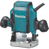 Makita RP0900K 1-1/4 HP Plunge Router 27000 RPM