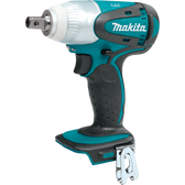 "Makita XWT05Z 18V LXT Li-Ion Cordless 1/2"" Sq. Drive Impact Wrench (Tool Only)"